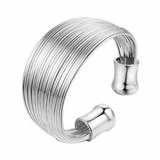 Beauty Silver Plated Band Costume Rings