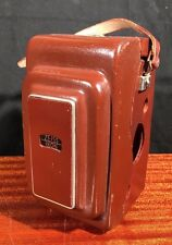 Rare Vintage German! ZEISS IKON CAMERA CASE 1250/16 for IKOFLEX FAVORIT TLR Nice