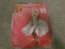 HALLOWEEN COSTUME MARILYN MONROE SEXY  ADULT  XLARGE 12 - 14 WHITE