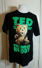 Ted The Movie Ted Is my Thunder Buddy Licensed Adult Fitted T Shirt Size L