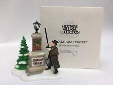 Dept 56 YE OLDE LAMPLIGHTER Dickens Heritage Village Collection #58393