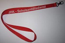 Rotes Kreuz JRK Schulsanitätsdienst Schlüsselband Lanyard NEU (T183)