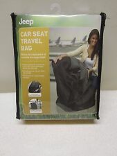 JEEP Chrysler Black Baby Infant Car Seat Auto Travel Bag Style 90109 Brand-New