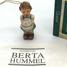 Goebel Berta Hummel Ornament Christmas 935137 Birthday Figgy Pudding New Old