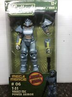 Fallout 4-Inch Mega Merge Action Figure Series 2 T-51 Vault-Tec Power Armor