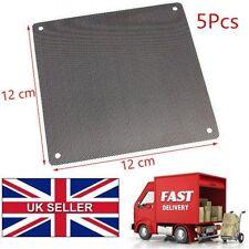 5PCS 120mm Cuttable PVC PC Fan Dust Filter Dustproof Case Computer Mesh Black