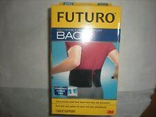 Futuro Adjustable Back Support, Fits Waist 29-51 in., Black