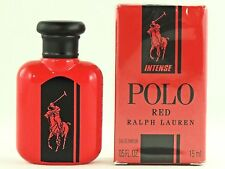 RALPH LAUREN POLO RED INTENSE 15ml .5fl oz COLOGNE MINI NEW IN SEALED BOX