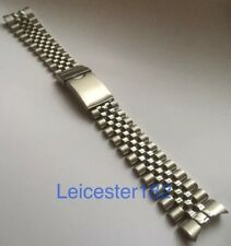 20mm Seiko RLX Jubilee Style Stainless Steel Bracelet SOLID END LINKS + S/Bars