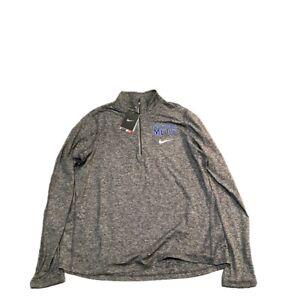 NWT New York Mets Nike Dri-Fit Women's Element 1/2 Zip Size XL Jacket