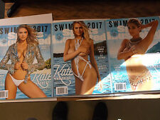 3 Different Covers of KATE UPTON 2017 Sports Illustrated Swimsuit Issues Barcode