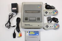 Nintendo Super Famicom Console Space Invaders SFC Import US Seller Import K1450