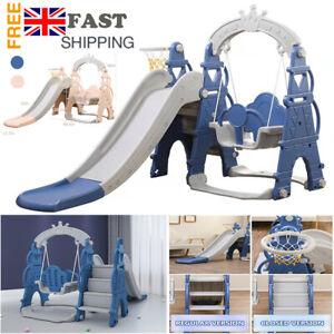 Childrens Garden Climber Slide Swing Set Toddler Playground Indoor Outdoor Toy