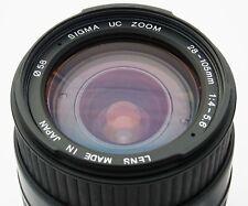 Sigma UC Zoom 28-105mm 1:4- 1:5,6 (58mm)  f.Canon EF - AF defekt / manuell OK