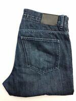 Men's Gant Tyler Low Waist Straight Leg Indigo Blue Jeans | W34 L32