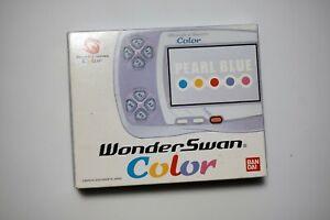 WonderSwan Color console pearl blue Japan system US Seller