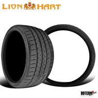 2 X New Lionhart LH-Five 295/25R22 97W Passenger All-Season Tires