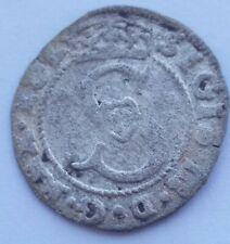 R5 szeląg solidus 1589 Zygmunt III Waza srebro Sigismund