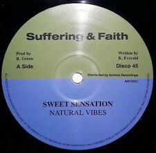 NATURAL VIBES - SWEET SENSATION (ARCHIVE/SUFFERING & FAITH 12 INCH) OUT NOW!!