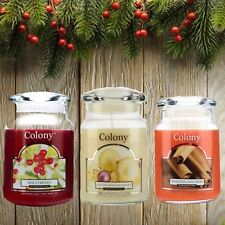 Wax Lyrical Colony Toasted Cinnamon Large Jar Scented Candle