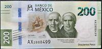 200 pesos Mexico commemorative 2019 p- new UNC golden eagle!!!