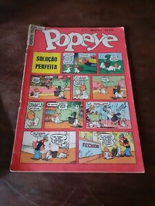 Popeye #73 of 1959 silver age comics magazine Brazilian first edition