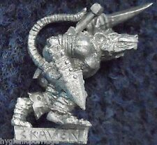 2001 Skaven alcantarilla Runner 3 Games Workshop eshin Noche Warhammer ejército Mordheim