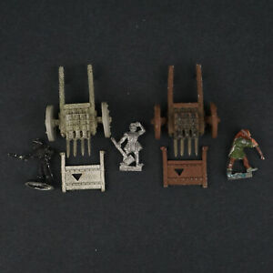 Warhammer Fantasy Bretonnia Organ Gun Lot x2 - Metal Pre-owned Oldhammer THG