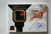 10-11 UD THE CUP SIGNATURE PATCHES JEFF CARTER #20/75