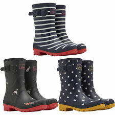 Joules Womens Mollywelly Mid Height Printed Wellington Boots