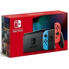 CONSOLA NINTENDO SWITCH V2 BASE+2 MANDOS COLOR AZUL ROJO+ 2 CORREAS+HDMI+SOPORTE