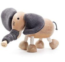 NEW AnamalZ Elephant Poseable Wood Wooden Figure 10cm - Preschool Steiner