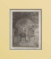 RAVENNA:Tomba Galla PLACIDA.In Passepartout. XILO.1867