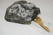 Nuevo Caja Fuerte De Rock clave ocultar las claves fuera de jardín ocultar Piedra Geocaching Contenedor
