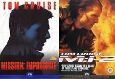 MISSION IMPOSSIBLE COMPLETE PART 1 2 Tom Cruise BRAND NEW AND SEALED UK R2 DVD