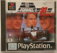 Formel 1 Eins 98 1998 Black Label Sony PlayStation PS1 PS2 PSX CiB Ovp+Anleitung