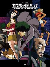 Cowboy Bebop Piano Score Book Sheet Music Anime Free Ship w/Tracking# New Japan
