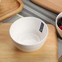 "5"" Fine Bone China Cereal/Soup Bowl Set - 6 Packs,White"
