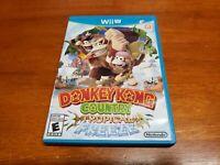 Donkey Kong Country: Tropical Freeze (Nintendo Wii U, 2014) CIB Complete TESTED