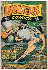 Ranger Comics #33 VG/F Hypodermic Panels VERY SOLID COPY !