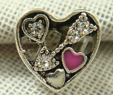 New European Silver CZ Charm Beads Fit sterling 925 Necklace Bracelet Chain cy21