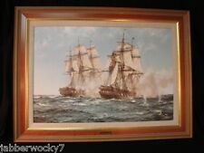 MONTAGUE DAWSON - JAVA AND CONSTITUTION - An Original Oil Reproduction / Giclee