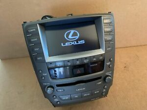 2006-2009 Lexus IS250 IS350 GPS Navigation Climate Control Radio CD Player OEM