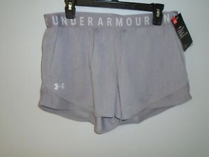 Under Armour Women's  UA Play Up  Shorts 3.0, Sz: LG. # 1349125 585