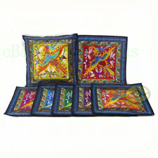 "square 18""x18"" Chinese Hmong Phenix Embroidery Canvas Cushion Cover/Pillow Case"