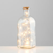 Retro Vintage LED Apothecary Bottle Chain Light Battery Operated Home Table Lamp