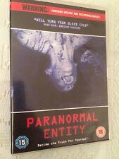 Paranormal Entity DVD (2010) Shane Van Dyke