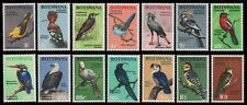 Botswana 1967 - Mi-Nr. 19-32 ** - MNH - Vögel / Birds