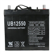 UPG 12V 55Ah Scooter Battery UB12550 Group 22NF for Invacare Pronto