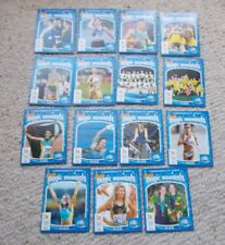 NESTLE PETERS TRADING CARDS  COMMONWEALTH GAMES AUSSIE MAGIC MOMENTS 15 CARD SET